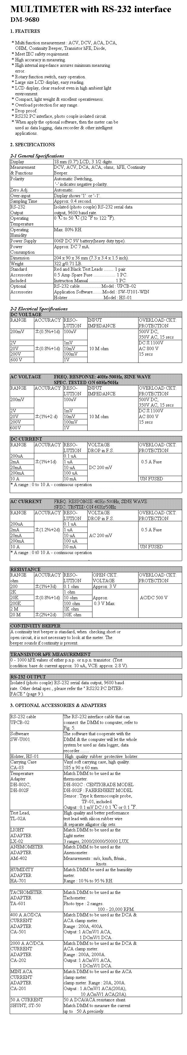 DM9680 kit form
