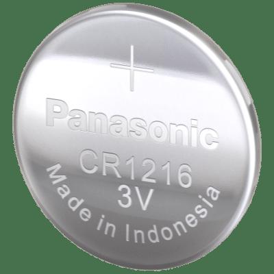 Panasonic CR1216/BN 3V Lithium Button Battery