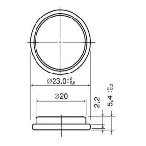 Panasonic_CR2354_dimensions