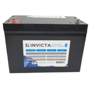 12V 100Ah Invicta Lithium Motorhome Batteries