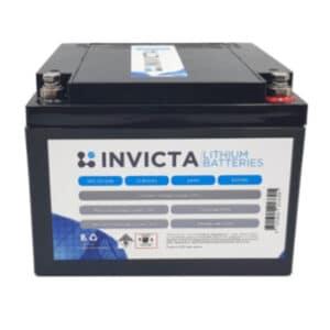 INIVCTA LiFePO4 12V 24Ah Battery